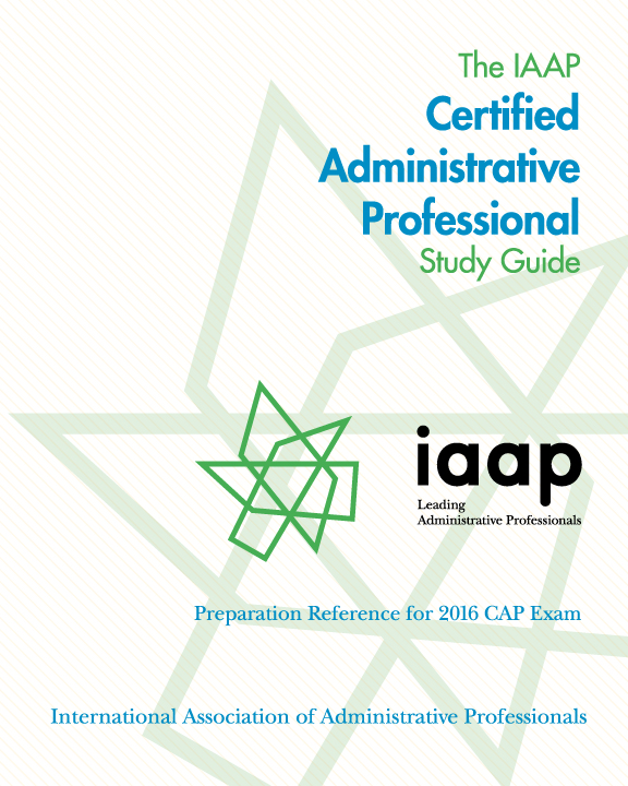 the iaap cap study guide is almost here iaap edge rh edge iaap hq org Certified Professional Admin Certified Professional Secretary Examination