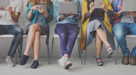 Friends Connection Digital Devices Technology Network Concept
