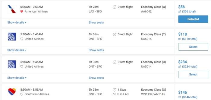 Image 4 - Flight Options